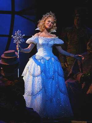Glinda: It's good to see me, isn't it?